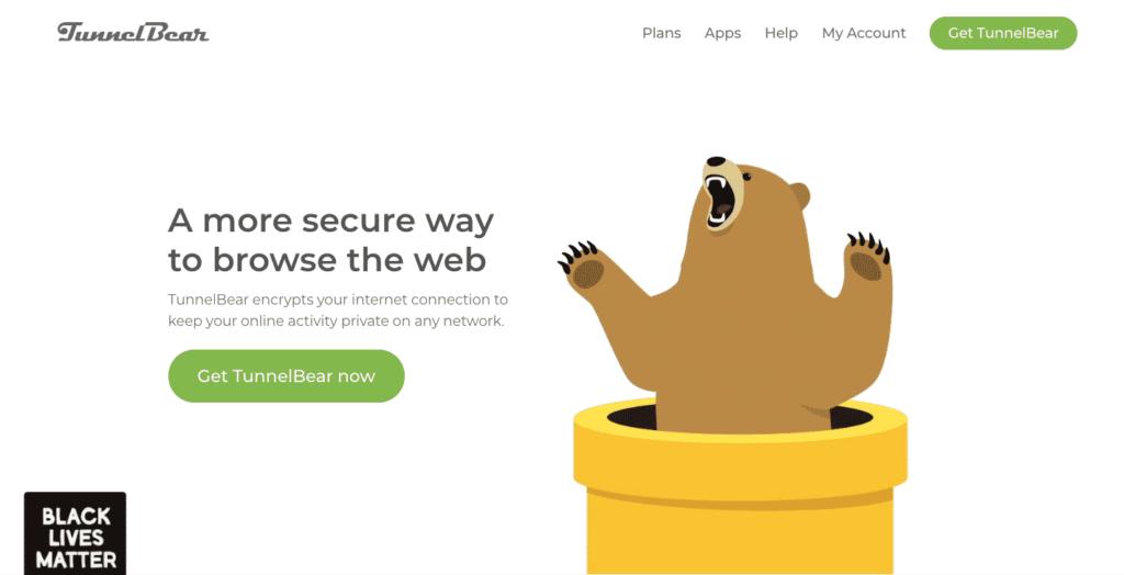 TunnelBear VPN Service