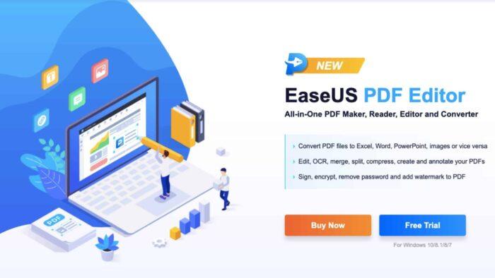 EaseUS PDF Editor Review: PDF Editing Software Online and Offline
